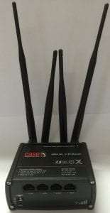 Case 6904 4G/LTE router with dual SIM