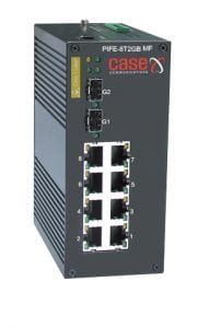 PIFE 8T 2GB MF -Industrial PoE Gigabit Managed Ethernet Switch