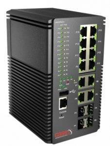 PIGE12T4GB MX-Industrial Gigabit POE+ Ethernet Switch