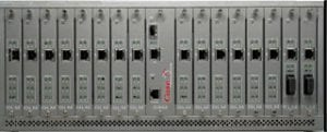 XLR5000 Ethernet Extender Front View